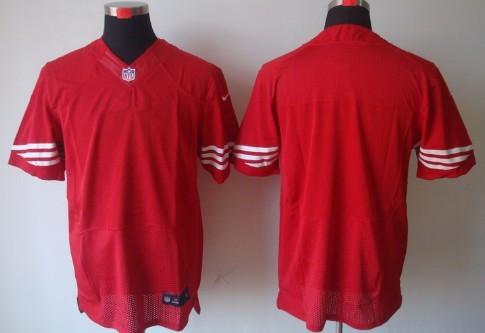 Men's San Francisco 49ers Blank Scarlet Red Team Color NFL Nike  supplier