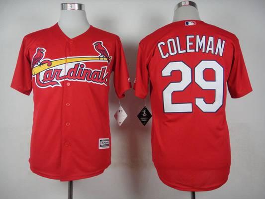 Men's St. Louis Cardinals Blank 2015 Red Jersey