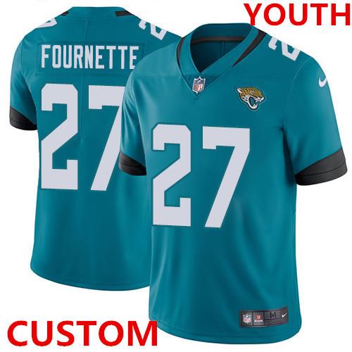Nike Jacksonville JaguarsJacksonville Teal Green Team Color Youth Stitched NFL Vapor Untouchable Limited Jersey