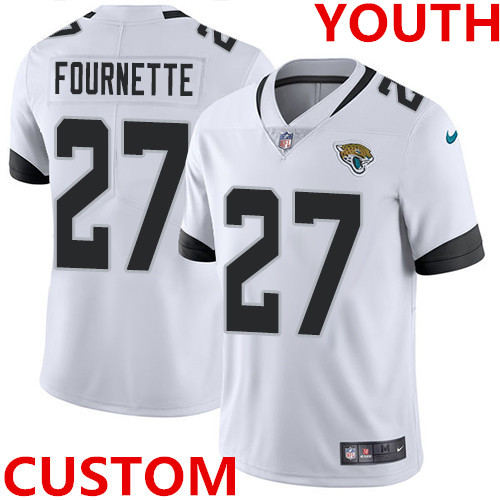 Nike Jacksonville Jaguars White Youth Stitched NFL Vapor Untouchable Limited Jersey