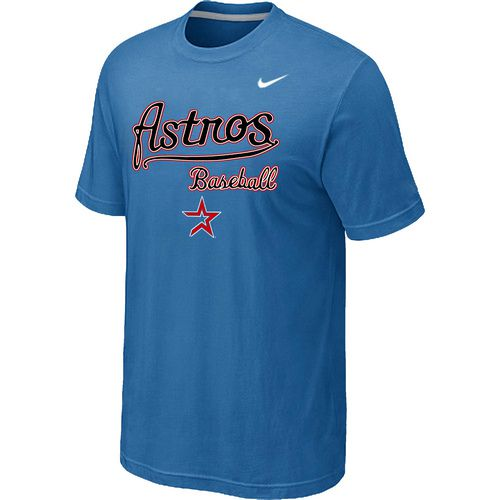 Nike MLB Houston Astros 2014 Home Practice T-Shirt - light Blue