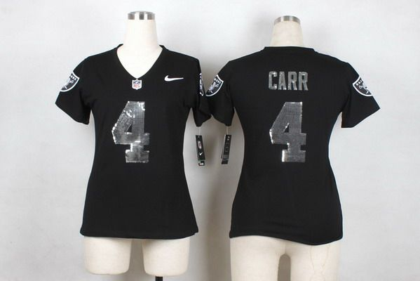 super popular 4fa1a 44d8a womens raiders carr jersey