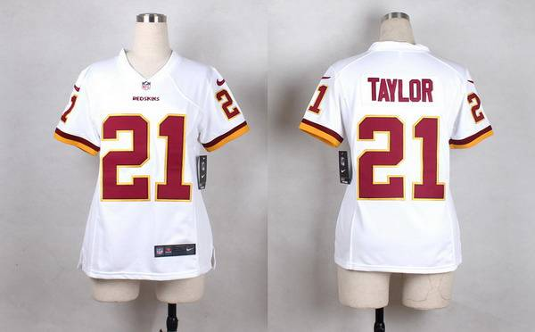 Top Nike Washington Redskins #16 Colt McCoy White Game Womens Jersey on