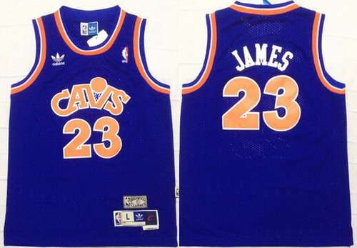 online retailer 484b3 0d246 Youth Cleveland Cavaliers #23 LeBron James CavFanatic Blue ...
