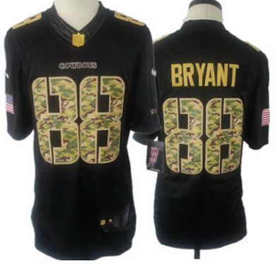 official photos 74be5 172a1 Youth Dallas Cowboys #88 Dez Bryant Nike Salute To Service ...