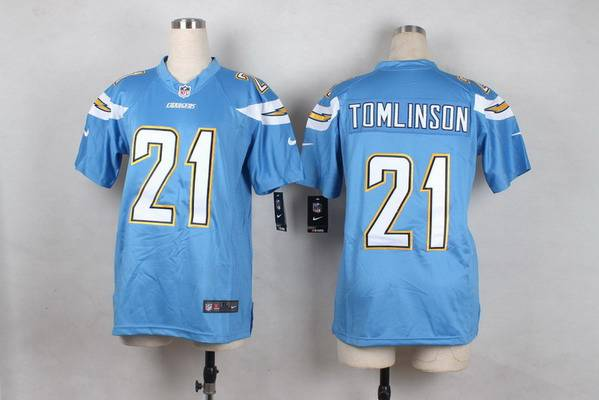 sports shoes 1ac2d b9d20 Youth San Diego Chargers #21 LaDainian Tomlinson 2013 Nike ...
