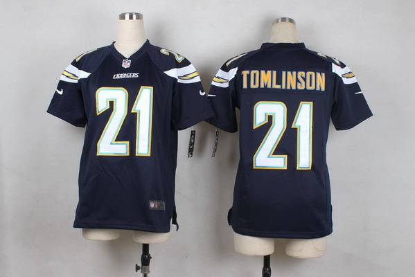 sports shoes 147c9 69db5 Youth San Diego Chargers #21 LaDainian Tomlinson 2013 Nike ...