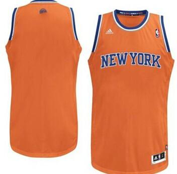 new york knicks blank orange swingman jersey