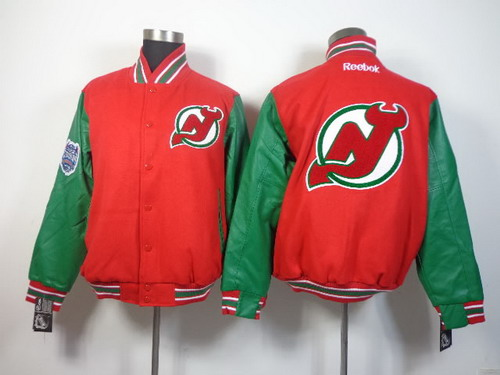 New Jersey Devils Blank Red Jacket