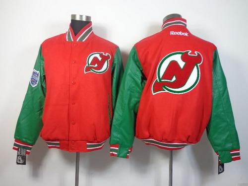 New Jersey Devils Blank Red Jacket