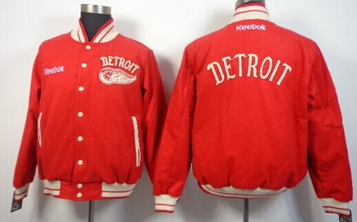 Detroit Red Wings Blank Red Jacket